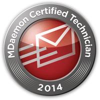 MDaemon Certified Technician 2014 Nürnberg Zertifikat
